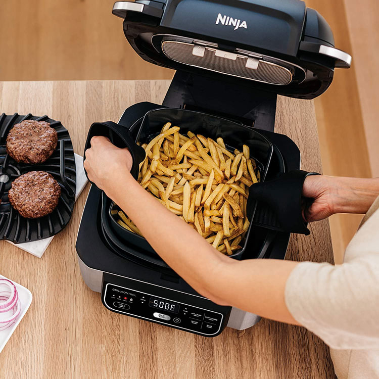 create-healthy-chargrilled-recipes-air-fried-dishes-ease-ninja-foodi-grill-frying-fries