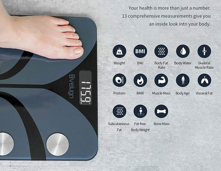 posture bveiugn review smart digital weighing scale with health management features